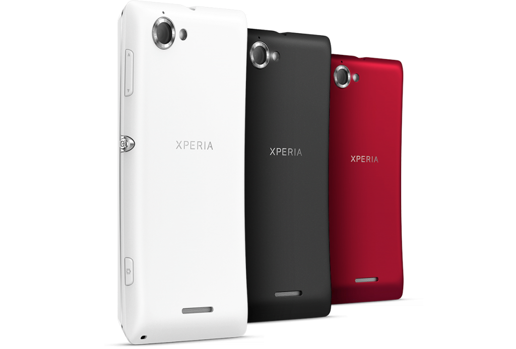 Sony Xperia L Rear