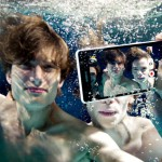 sony Xperia ZR waterproof