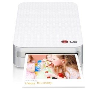 LG PD233 Pocket Photo Printer