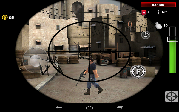 Shooting games for Android