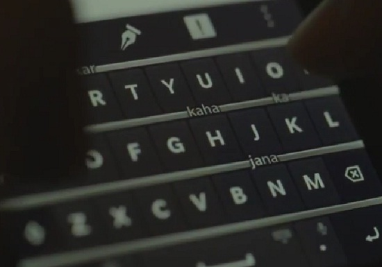 BlackBerry Z3 Hinglish Typing