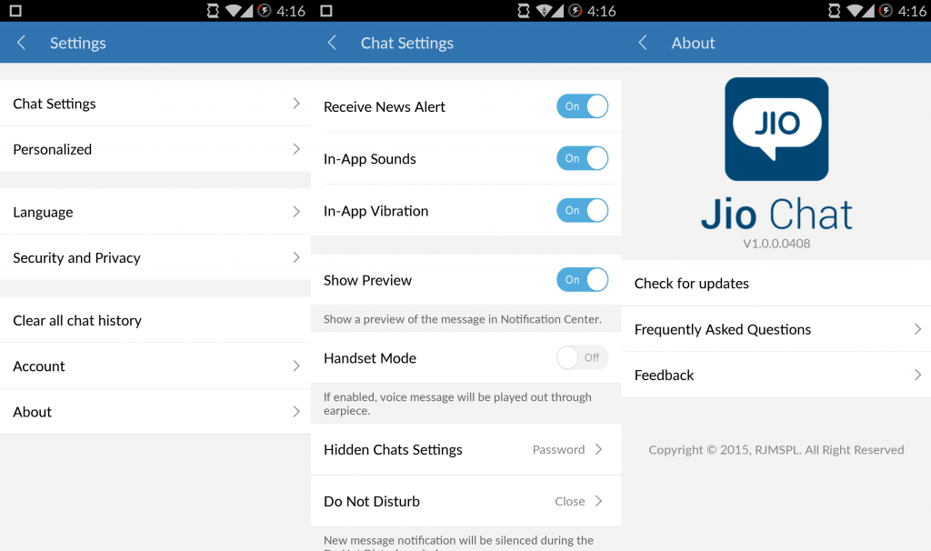 google play store jio chat