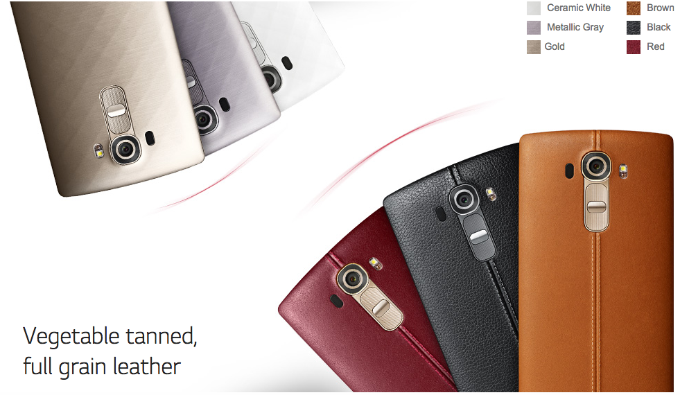 LG G4 complete specifications