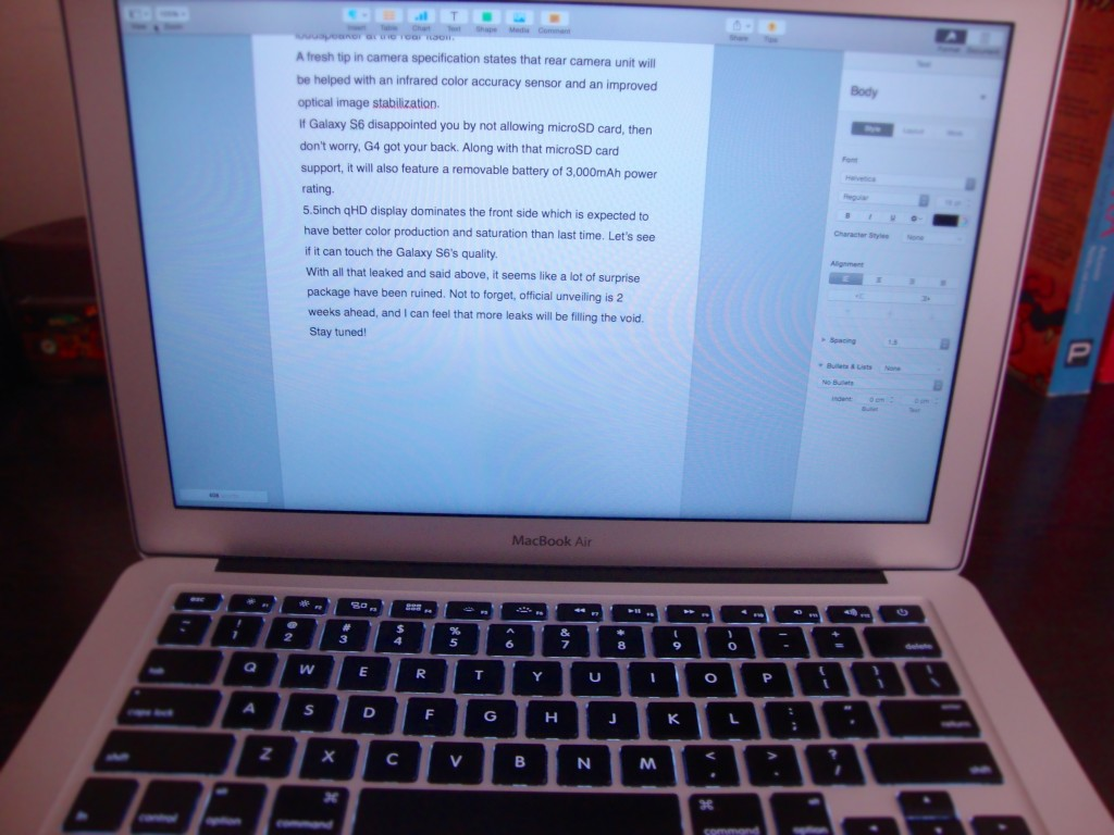 MacBook Air (late 2014) Review - Best laptop for Blogging4