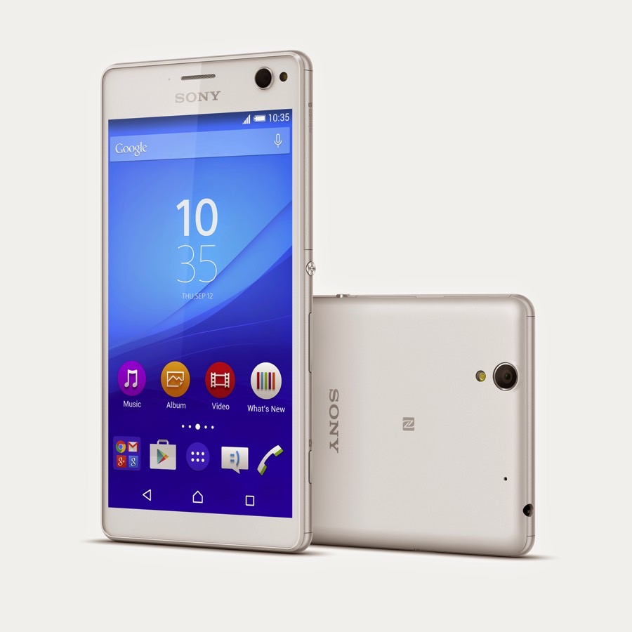 Sony Xperia C4 introduced with 5MP selfie camera [Details]