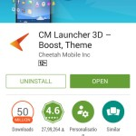 CM Launcher 3D by Cheetah Mobile – App Review