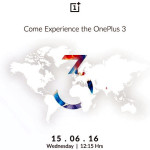 OnePlus 3 Announces Launch Plans for India